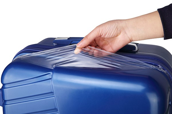 Verage Koffer Schutzfolie entfernen